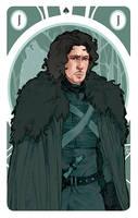 Game of Thrones' cards | Jack Jon Snow by SimonaBonafiniDA