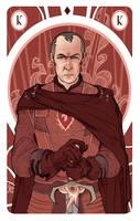 Game of Thrones' cards | King Stannis Baratheon by SimonaBonafiniDA