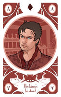 game of Thrones' cards | Ace Gendry Baratheon by SimonaBonafiniDA