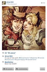 Selfie Fables | Alice in Wonderland