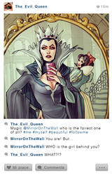 Selfie Fables_The Evil Queen and Snowhite