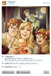 Selfie Fables   Peter Pan