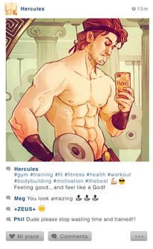 Selfie Fables | Hercules