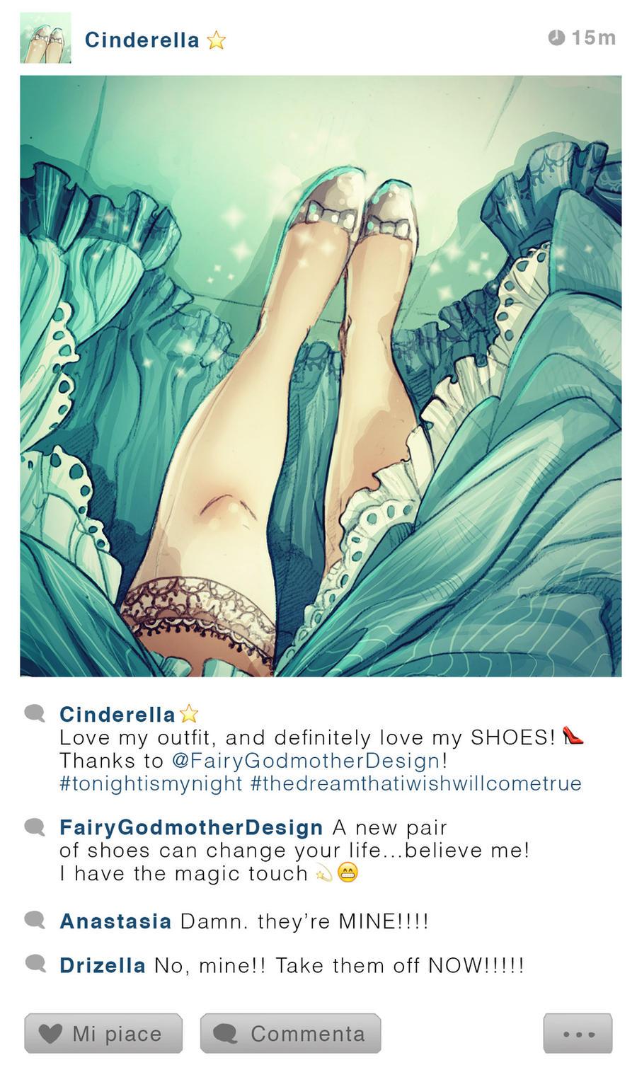 Selfie Fables | Cinderella by SimonaBonafiniDA