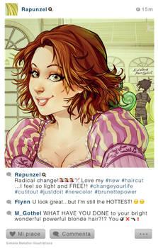 Selfie Fables | Rapunzel
