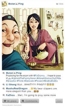 Selfie Fables | Mulan