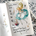 notes and sketches | Alice in wonderland