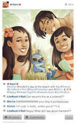 selfie Fables | Lilo and Stitch