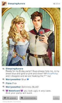 Selfie Fables | Sleeping Beauty