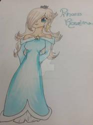 SMG-Rosalina Copic by GlitterPanda93