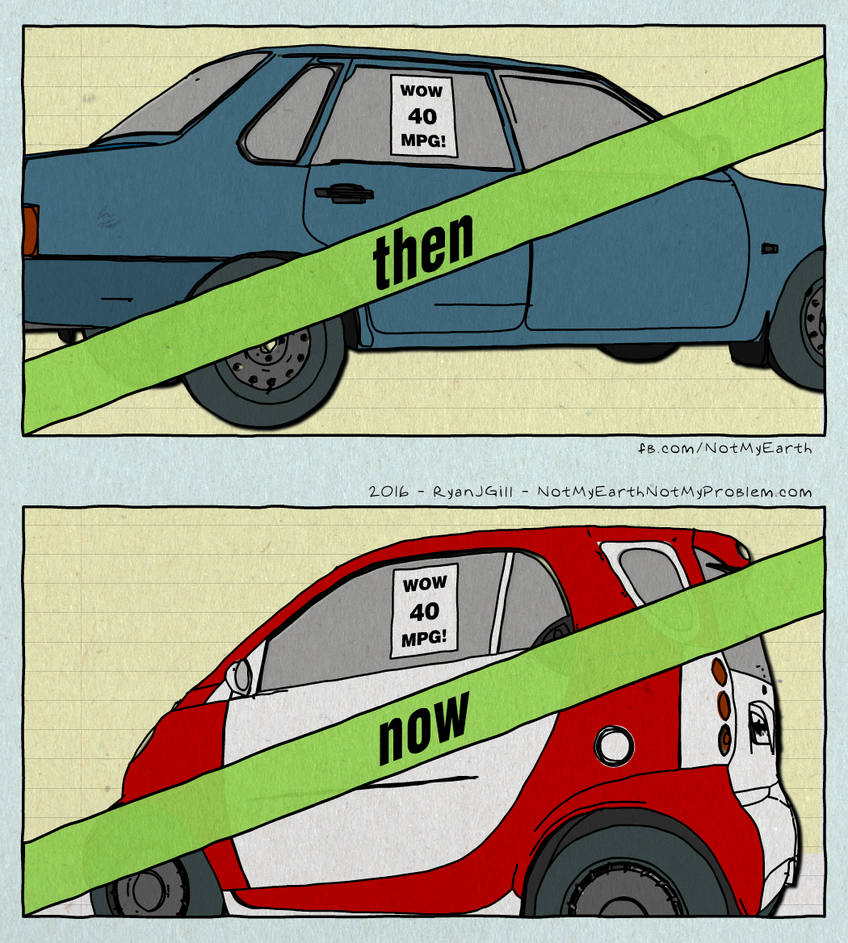 Then and Now Car MPG - Not My Earth Not My Problem by RyanJGill on ...