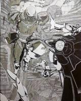 Destiny New Monarchy Titan vs Vex Goblin on Nessus