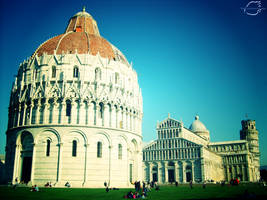 The Leaning Tower by Fruitz