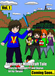 Anotherer Minecraft Tale Manga Cover by Skyrue117