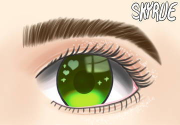Some kind of eye drawing by Skyrue117