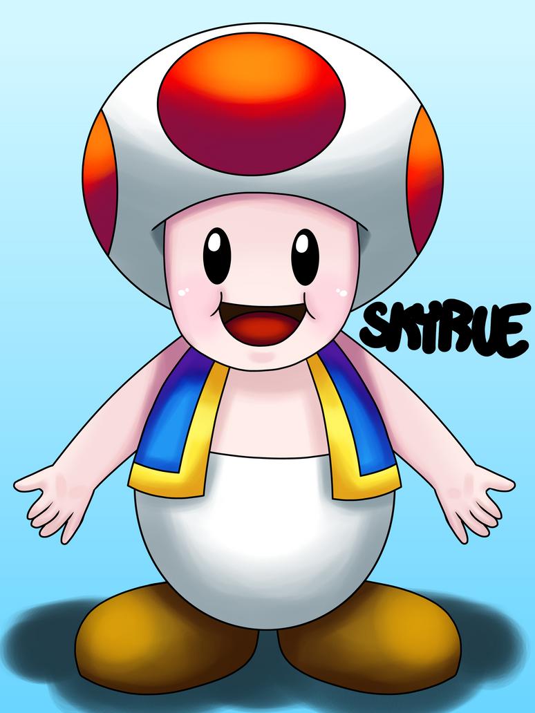 Fanart: Toad by Skyrue117
