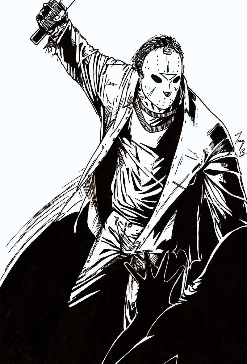 Jason : Friday the 13th by JointForce on DeviantArt Jason Friday The 13th Drawings