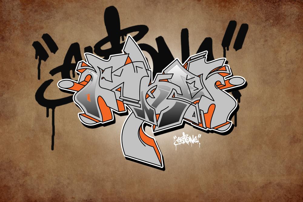 One LOVE Graffiti by EkaOne1