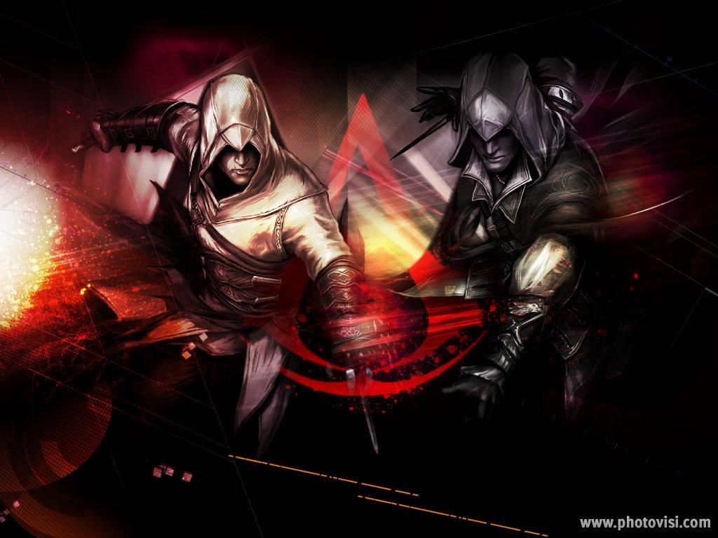 Assassins Creed Altair And Ezio Wallpaper By Darkemoblood On Deviantart