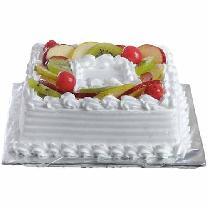 The Cake Artist Gurgaon : Square-mix-fruit-cake Delivery in Gurgaon by cakengiftsin ...