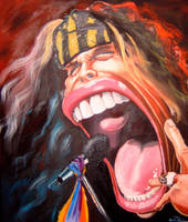 caricature Steven Tyler by crazedude