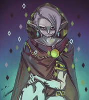 Totally Not Ghirahim by LunarMew