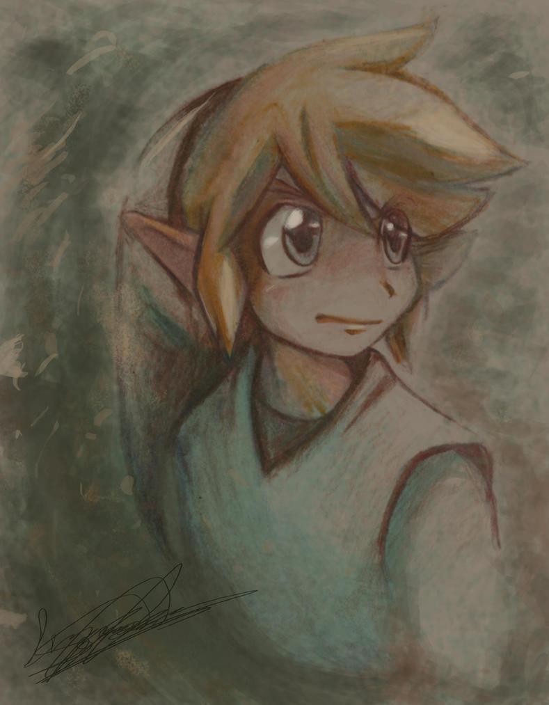 ... euh j'peux la mettre là la - Page 4 Green_link_with_color_pencils_by_lunarmew-d3d5ysx