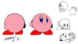 SSB64 Kirby Concept Art