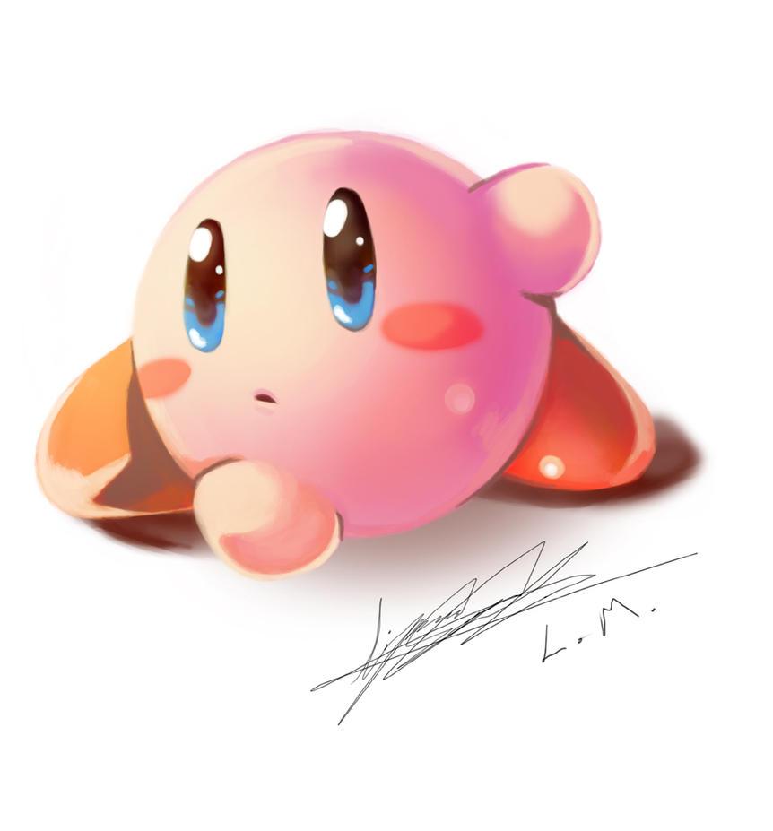 A Kirby Doodle by LunarMew