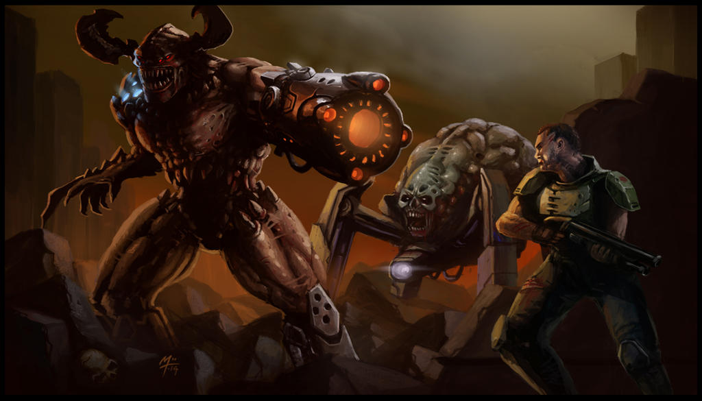By Excrem By Excrem On Deviantart: DOOM By EXcrem By EXcrem On DeviantArt