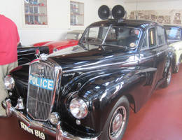 54 Wolseley 6 80 Police Car by zypherion