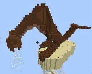 Silzar - Minecraft 3D Pixel Art