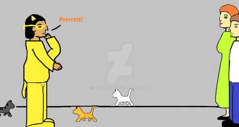 Hero Cat Caller