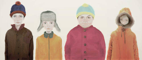 Four Boys by mieze018