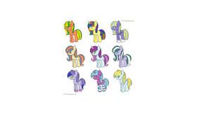 Pony adoptables {OPEN}