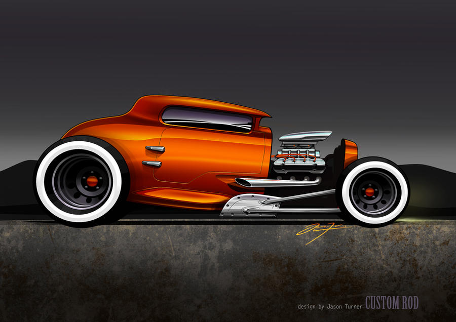 custom rat rod by JAYSdesigns on DeviantArt