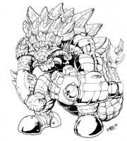 Ankylo by Godzilla Samurai by tyrannosaur1984