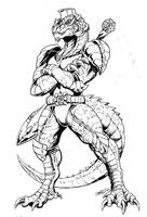 Allo by Godzilla Samurai by tyrannosaur1984
