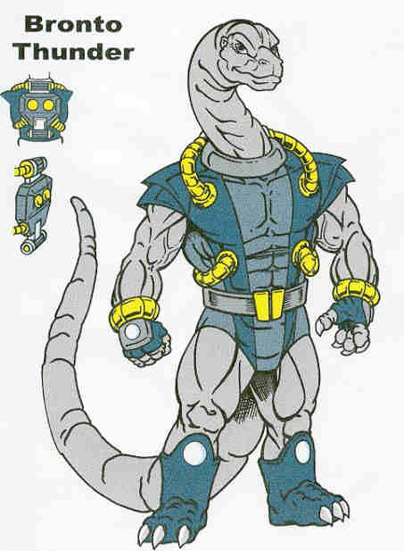 Bronto Thunder by tyrannosaur1984