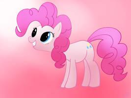 Pinkie Pie Happy by elyonblade