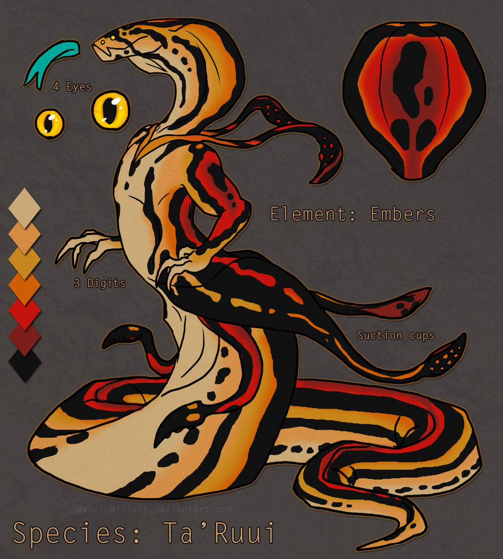 Ember Ta'Ruui Adopt Auction SOLD by Naeomi