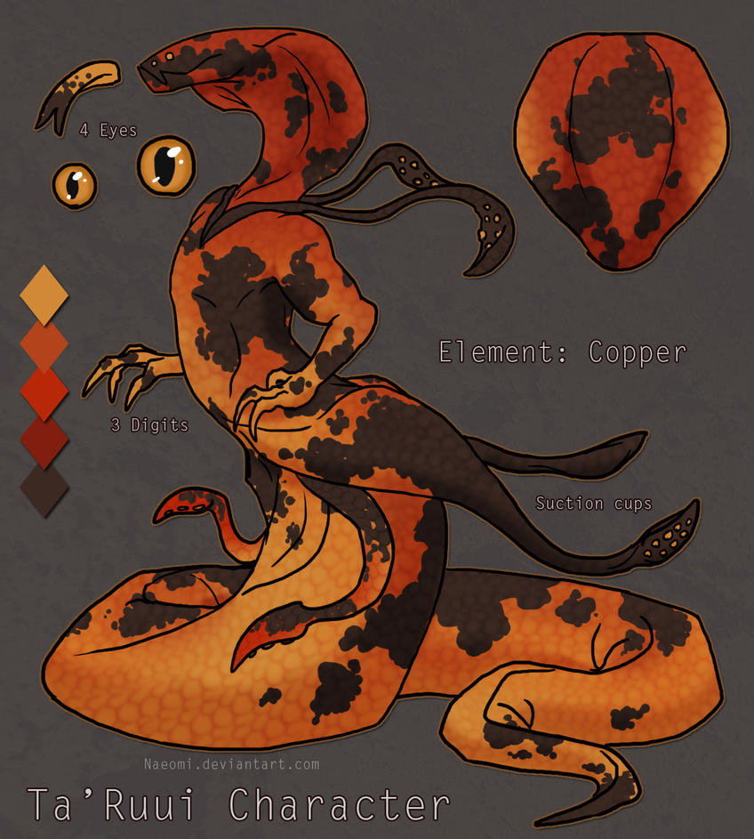 Copper Ta'Ruui Adopt Auction [SOLD] by Naeomi