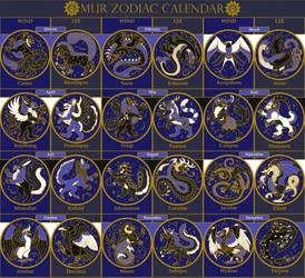 The Mur Zodiac by Naeomi