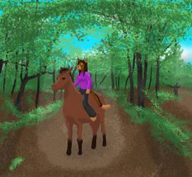 Kairi-Ride in the Woods