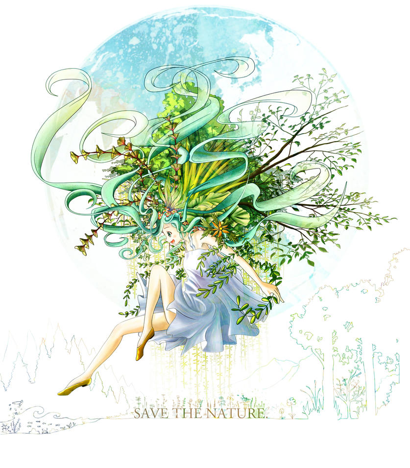 Save the Nature by Nonohara-Susu