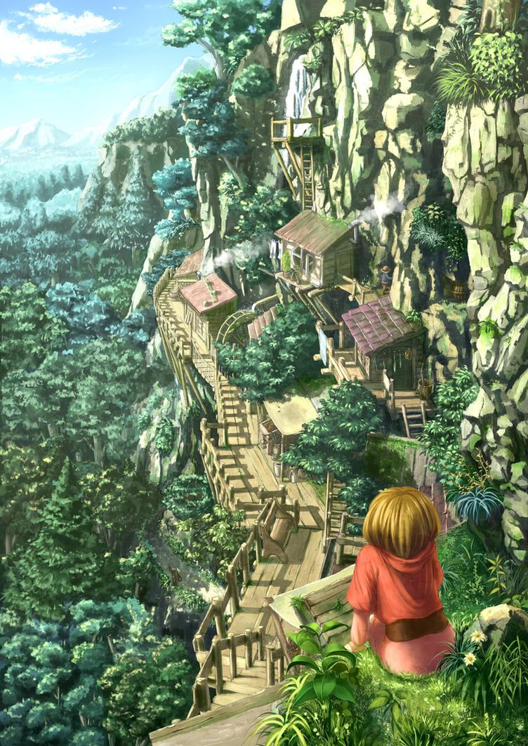 [SVIGNORE] Amie Village 2 by Nonohara-Susu