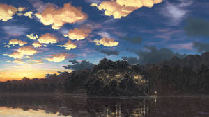 [SVIGNORE] Twilight of the lake -Forst Village-