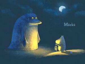 Groke and Moomin