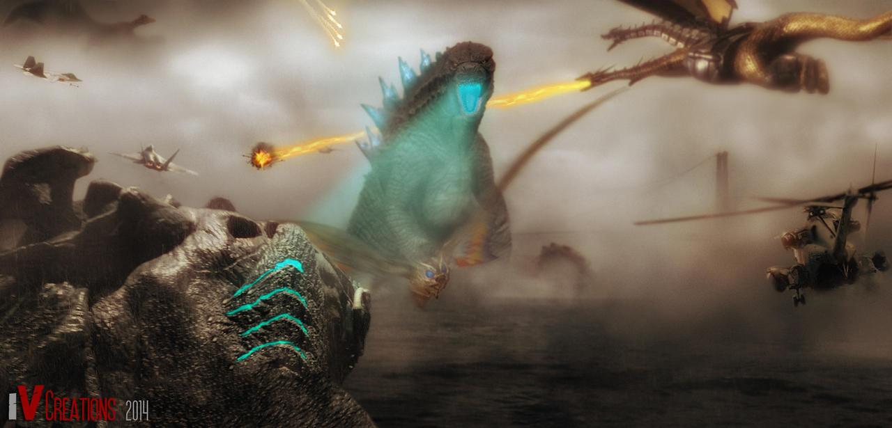 Godzilla 2018 vs Intruder by innocentoVia on DeviantArt