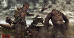 Godzilla: Birthday Ed.2(KingKong vs Godzilla)
